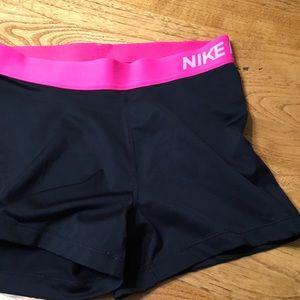 "Women's 3"" Nike Pro Shorts"